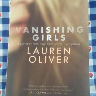 """Vanishing Girls"" by Lauren Oliver"