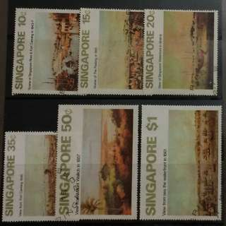 Singapore 1971 Arts 6v Stamps Used