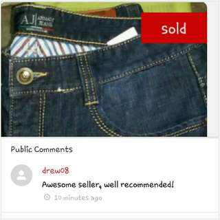 feedback from buyer