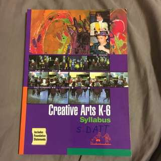 Creative Arts Syllabus NSW BOSTES