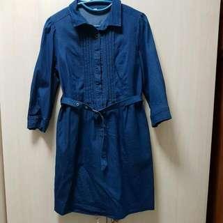 Light Weight Denim Dress From Si Nanz Bencoolen Fits Size M