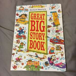 Richard Scarry's Great Big Story Book