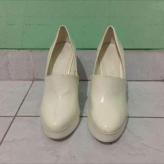 Zara Patent Platform Shoes