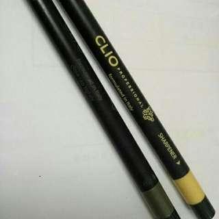 Clio眼線膠筆(金,褐)