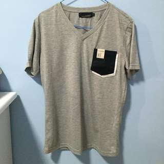 T-Shirt with Pocket (L Size)