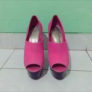 Topshop Pink Platform