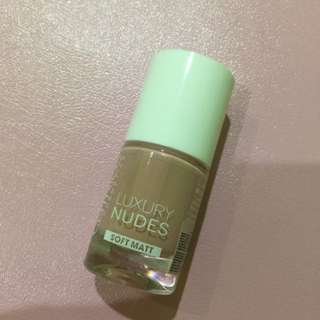 CATRICE nail polish luxury nudes(dose of rose)