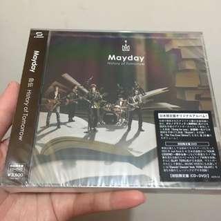 全新 五月天 自傳 History Of Tomorrow 日專 初回限定盤 CD+DVD