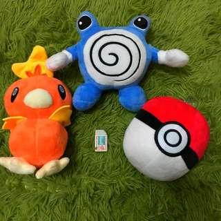 全新   神奇寶貝  寶可夢 蚊香蛙  寶貝球  雞