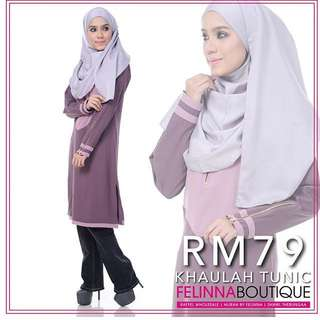 Tunik Khaulah By Felinna Boutique