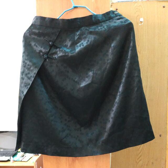 中國風 暗黑 短裙