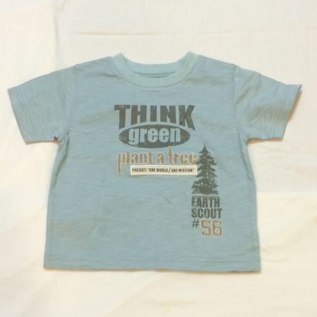 美國品牌 Babies R Us 薄短袖上衣(18個月 )(全新)