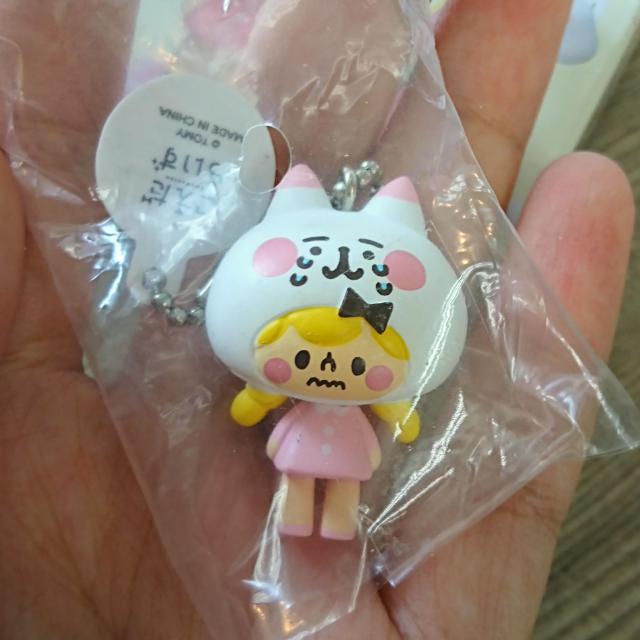 カナヘイ kanahei 卡娜赫拉小動物吊飾集/女の子と小動物ピンク
