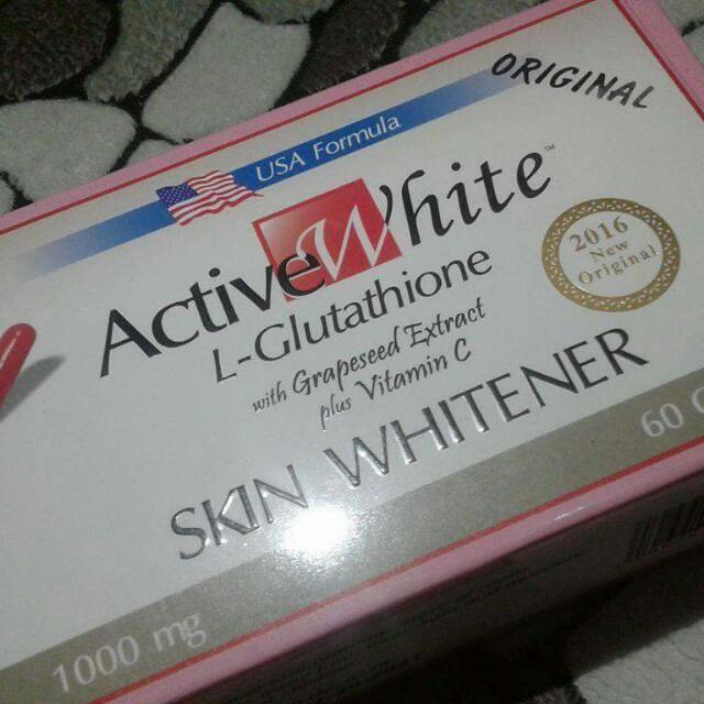 ACTIVE WHITE GLUTA CAPSULE