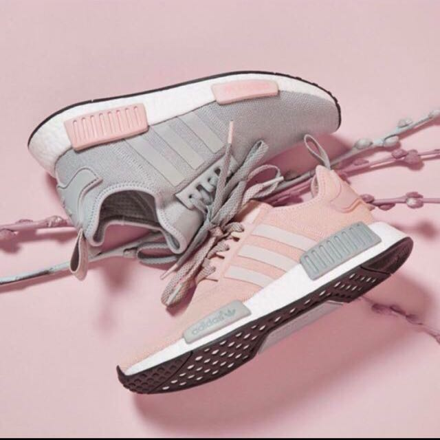 size 40 bcb2a 5b22b Adidas NMD R1 BY3058 Clear Onix Vapour Pink, Sports, Sports ...