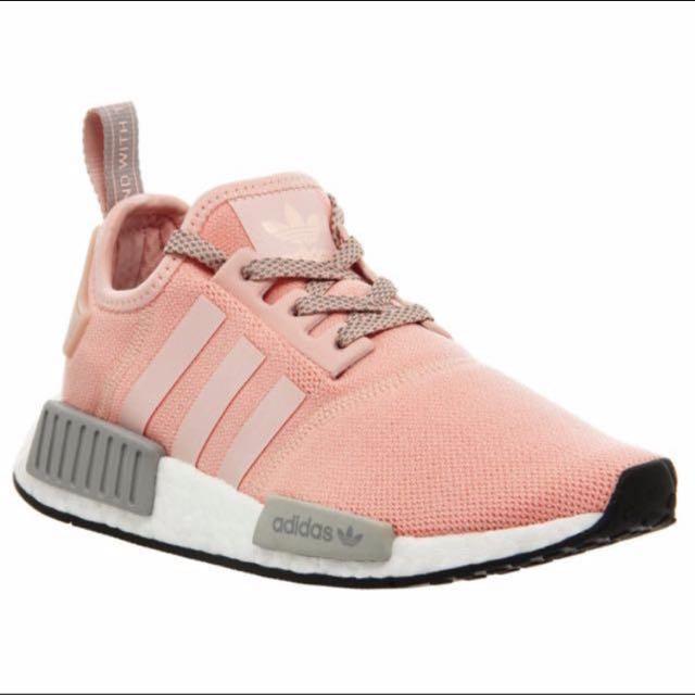 Adidas NMD R1 by3058 claro Onix vapor rosa, deportes, deportes y juegos