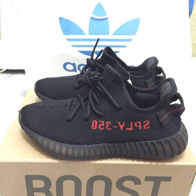 Adidas Yeezy Boost 350 V2 Black/Red (BNIB) Original