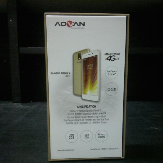 ADVAN I5E Mobile Phones & Tablets on Carousell Source · Cek Harga Advan S5E 4GS 5 Ram 2GB 16GB 4G LTE