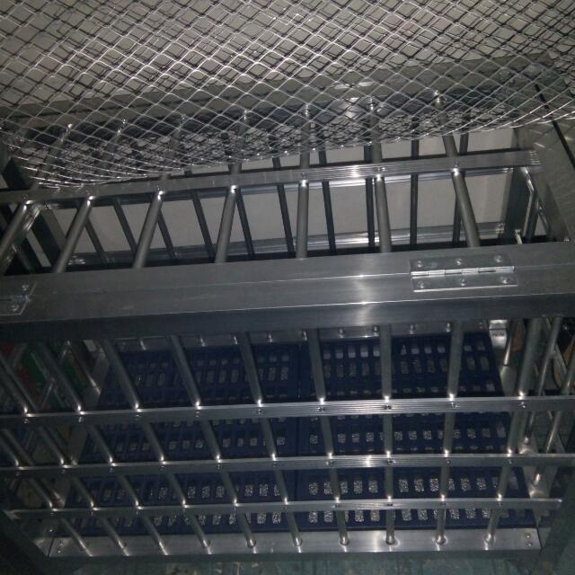aluminum dog cage(small dog)