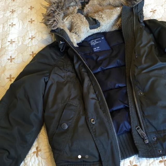 American Eagle Bomber Style Jacket Size XS