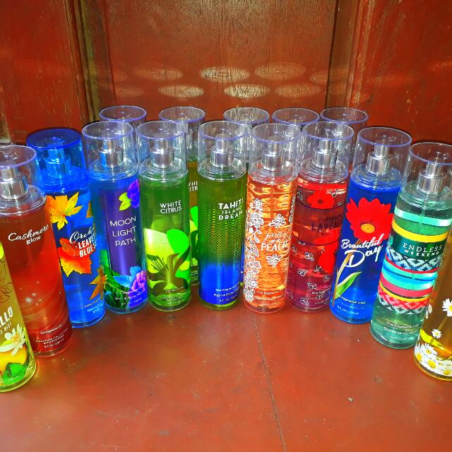 AUTHENTIC BATH AND BODY WORKS PERFUME