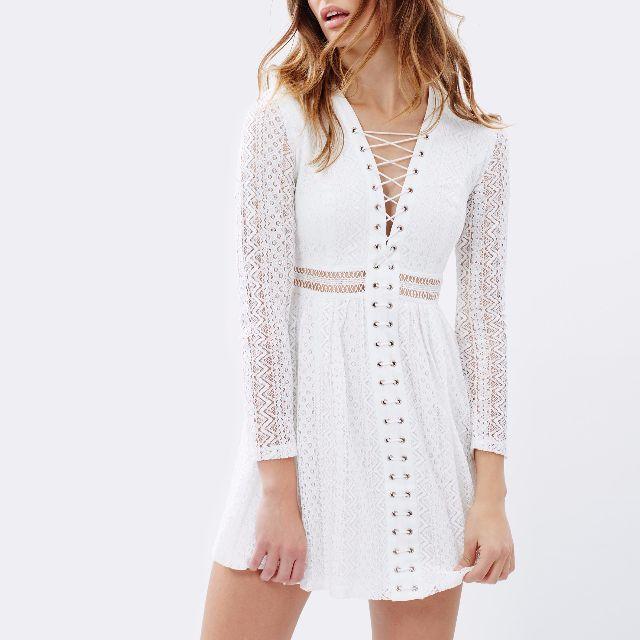 Bardot Gigi lace dress