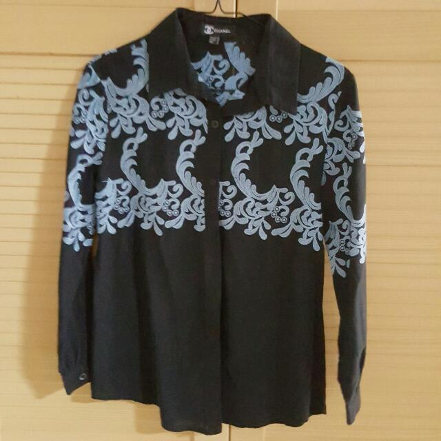 Black & Blue Shirt