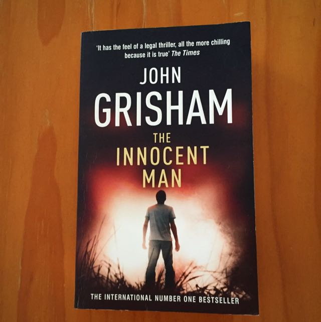 Book -  John Grisham - The Innocent Man
