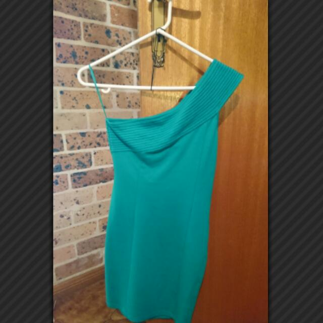 Brand New One Shoulder Dress