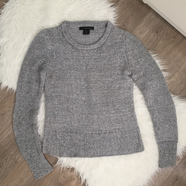 Calvin Klein Mixed Grey Knitted Sweater