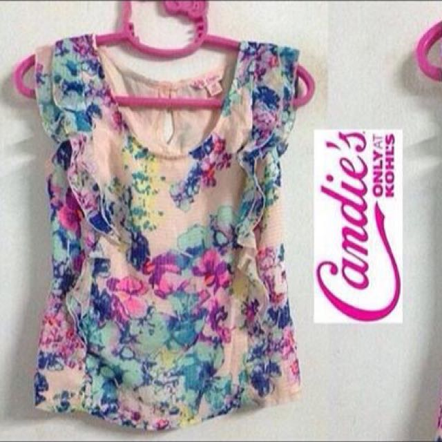 Candie's Flower Top