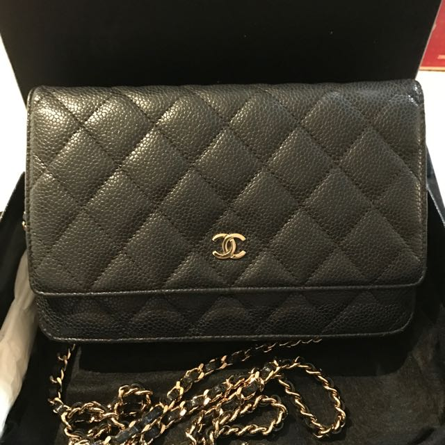 ca542462a2ee4f Chanel Woc In Black Caviar (GHW), Luxury, Bags & Wallets on Carousell