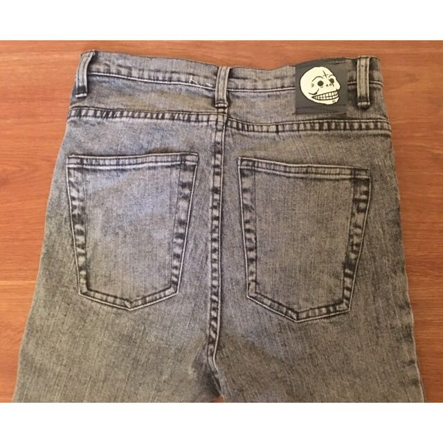Cheap Monday Grey High Waist Jeans