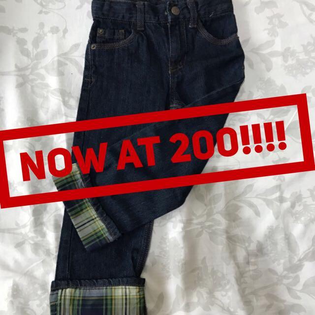 🐵Cherokee blue pants