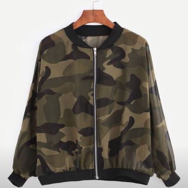 Comouflage Jacket