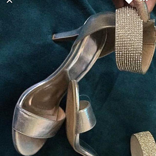 Deb/formal/bridal Diamond Heels