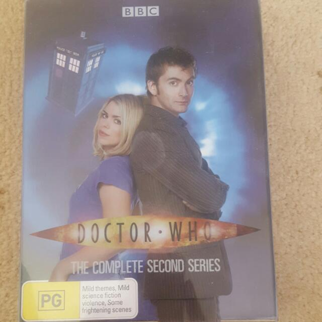Doctor Who Complete Second Series