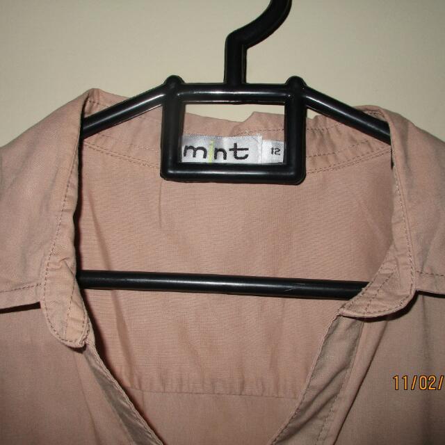 Dress Mint Khaki Size 12