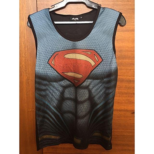 Dryfit Superman Race Singlet