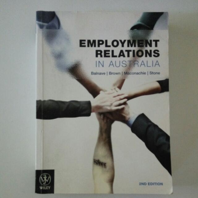 Employment Relations in Australia 2nd Edition