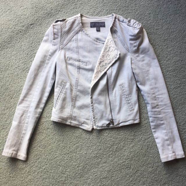 Forever New Denim Jacket - AU 6
