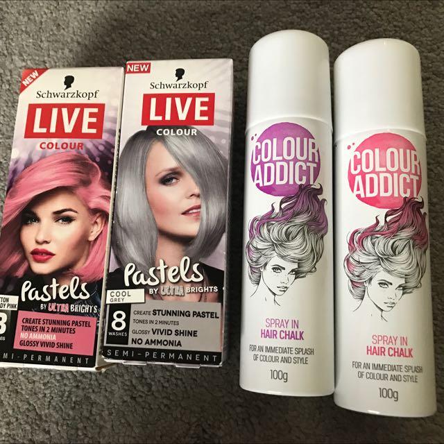 Hair Chalk Color Spray