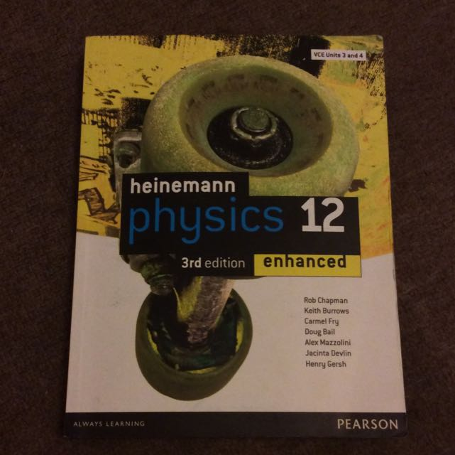 Heinemann Physics 12 3rd Edition