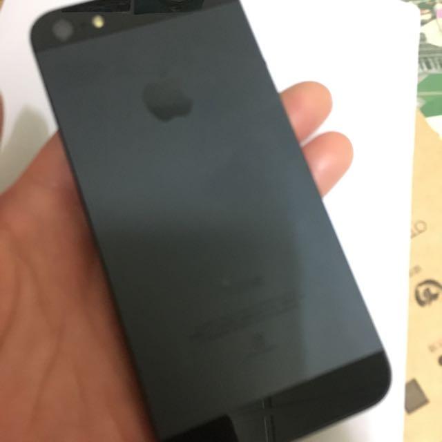 Iphone5 32g 黑色 有盒子