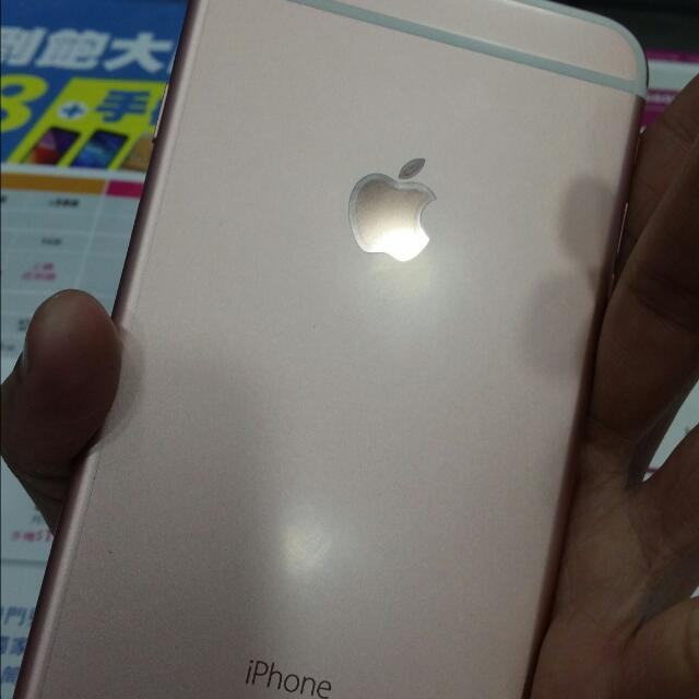 iphone 6s plus 64G 玫瑰金