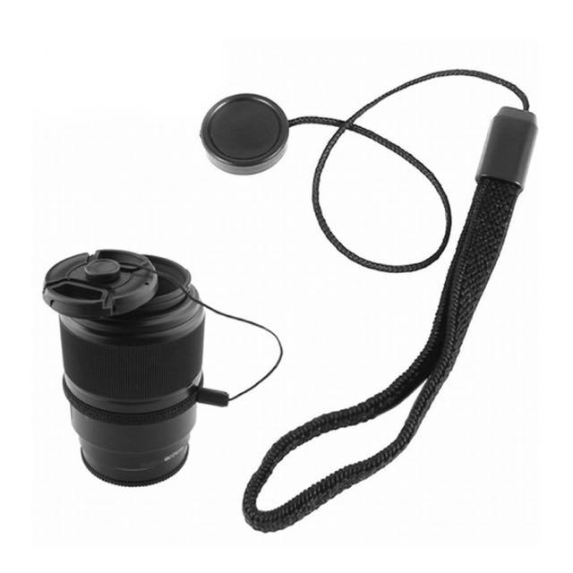 Lens Cap Keeper With Elastic Strap