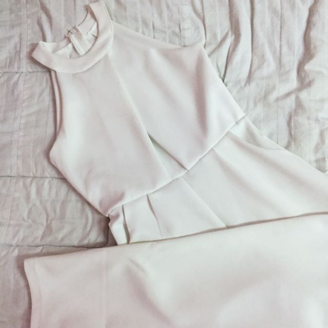 Long Jumpsuit in White size All size