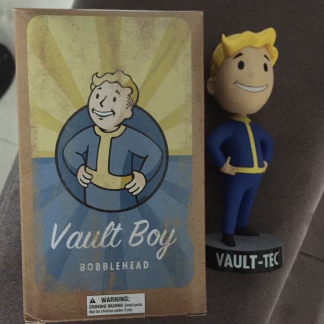 Loot Crate Exclusive Vault Boy Bobble Head