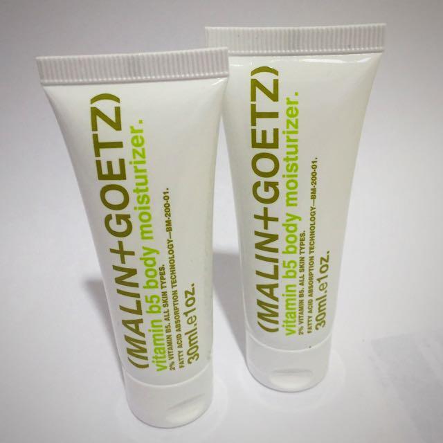 Malin Goetz Vitamin B5 Body Moisturiser