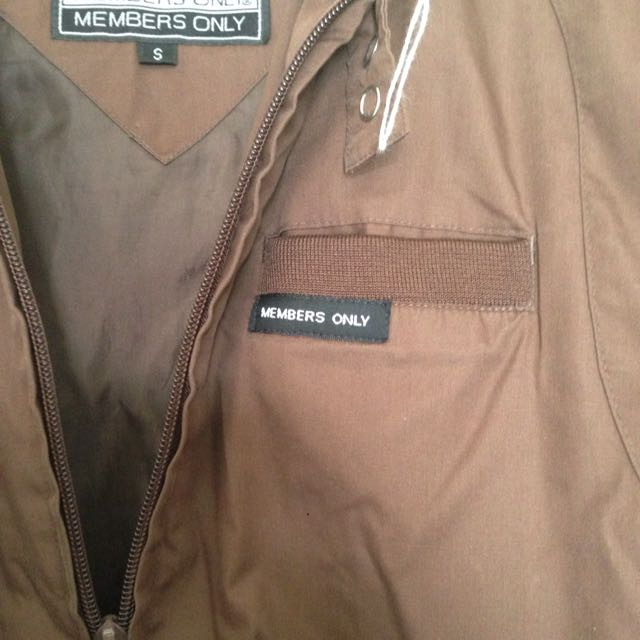 Members Only Jacket